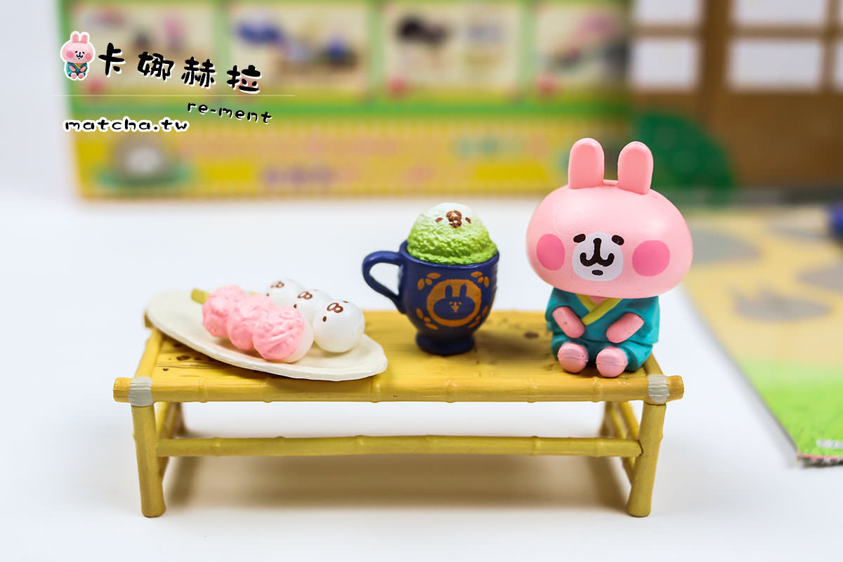 抹茶食玩|| Re-ment-卡娜赫拉與P助的日式甜點甘味處。詳細開箱介紹