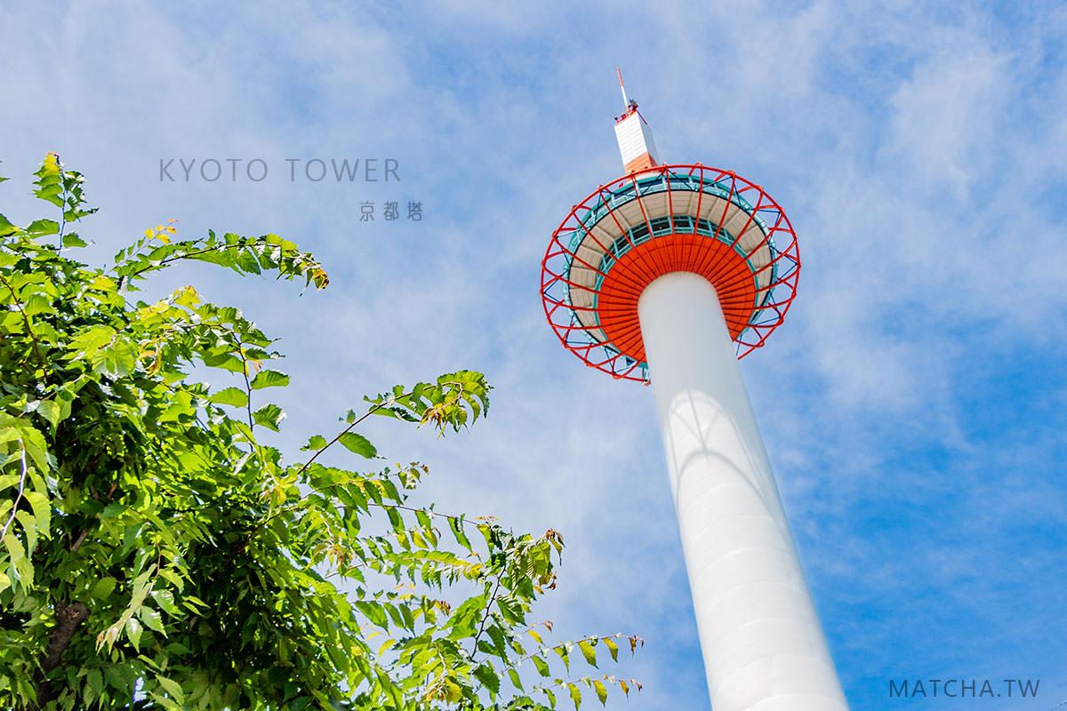 京都旅遊|京都塔 KYOTO TOWER 。放眼京都市,從遠方看京都名勝古蹟