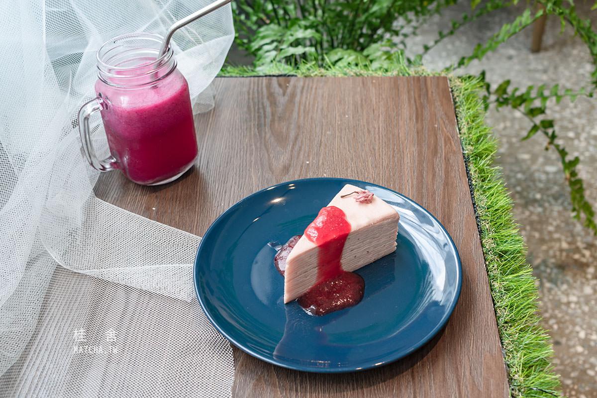 板橋不限時咖啡廳|桂舍 Kuei Fleur 。和咖啡甜點一同沉浸於花藝世界