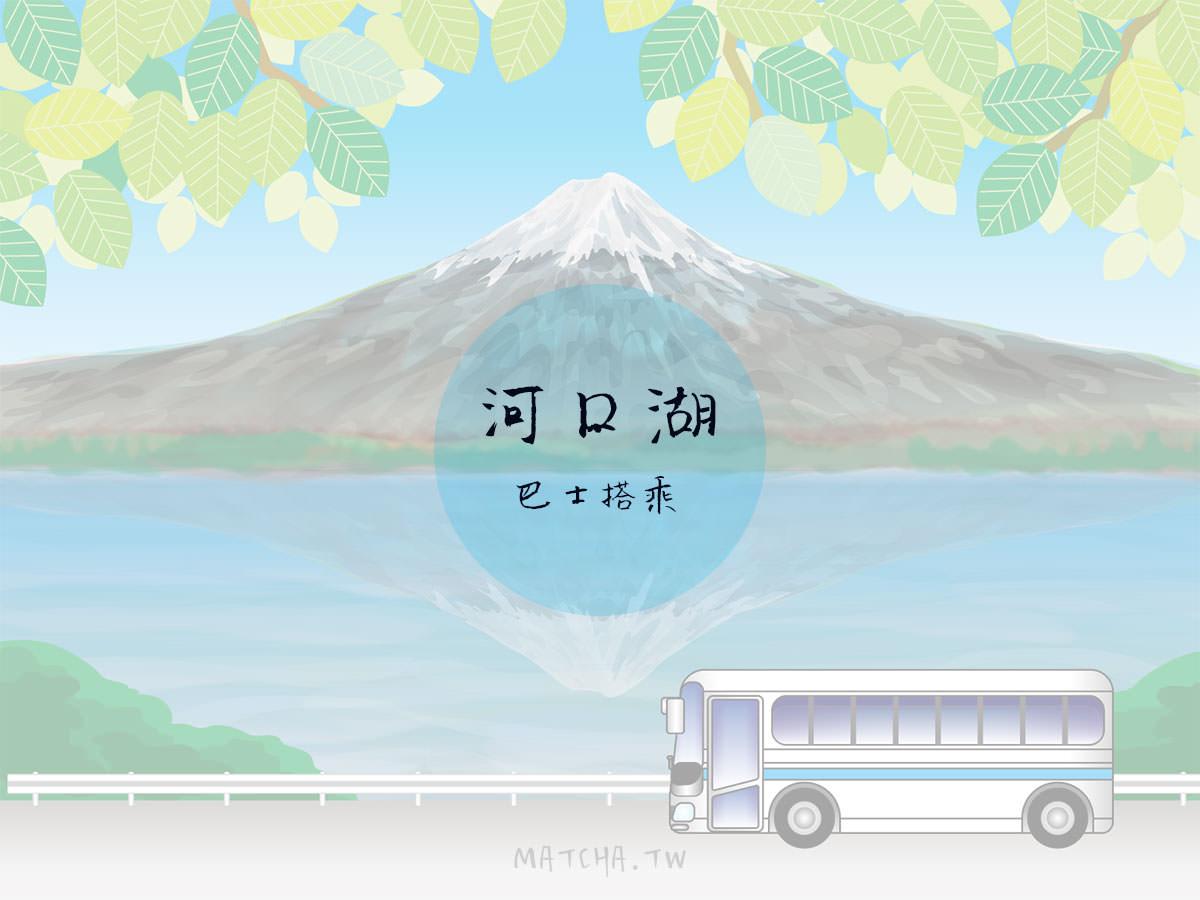 東京⇄河口湖巴士|高速巴士搭乘分享。直達東京都不用轉車