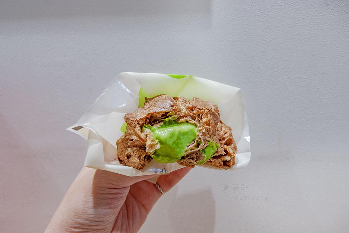 京都抹茶泡芙|清水 京あみ 。清水寺旁的小點心,加上肉桂生八橋味更特別